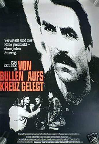 Von Bullen aufs Kreuz gelegt - Filmplakat A1 84x60cm