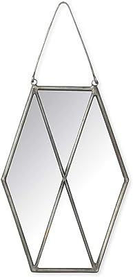 Crystalline Leaded Glass Mirror