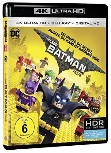 The LEGO Batman Movie (4K Ultra HD + 2D-Blu-ray) (2-Disc Version) [Blu-ray]