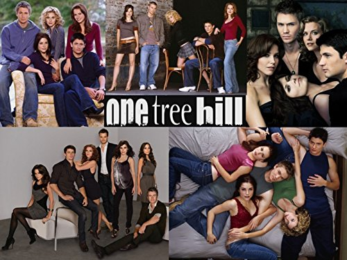 """NewBrightBase One Tree Hill TV Show Fabric Cloth Rolled Wall Poster Print - Size: (16"""" x 13"""")"""