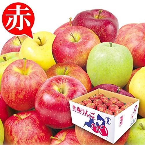国華園 青森産 お買得 おまかせ赤りんご 10�s 1組 りんご