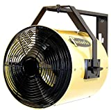 TPI YES15241A Heat Wave YES Series Electric Heater – Heat Wave Electric Salamander Heater, Wall/Ceiling Mount, Yellow Color. Heating Equipment