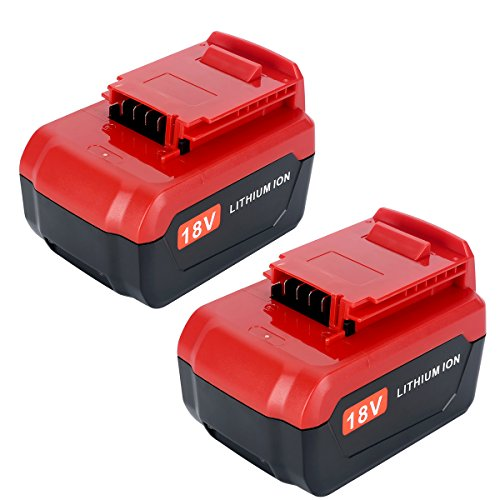 Lasica Upgraded 2-Pack 4000mAh 18V Lithium Battery PC18B Compatible with Porter Cable 18 Volt Cordless Power Tools Battery PC18BL PC18BLX PCC489N PC188 PCXMVC Porter Cable 18-Volt Replacement Battery