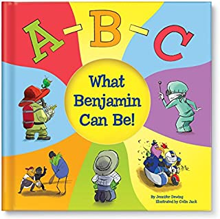 ABC Alphabet Letters Educational Book for Boys Girls Kids, Personalized