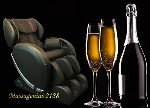 Massagenius 2188 LS Track 49' Long stroke Zero gravity Wall Hugger Massage Chair