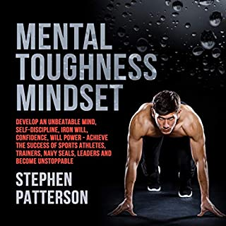 Mental Toughness Mindset audiobook cover art