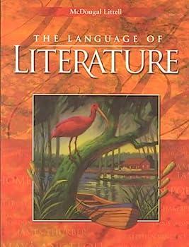 The Language of Literature level 9 0618136622 Book Cover