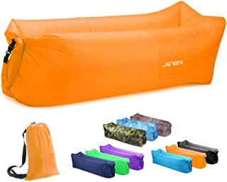 JSVER Air Sofa, Inflatable Lounger Inflatable Couch for Travelling, Outdoor, Camping, Hiking, Beach Parties, Picnic, Backy...