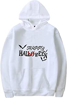 Guesthome Couple's Halloween Fashion Printing Party Long Sleeve Hoodie Sweatshirt Tops