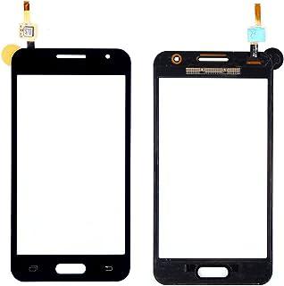 WeDone para Samsung Galaxy Core 2 Duos SM-G355H G355 Pantalla Táctil Digitalizador Vidrio(Sin LCD) Reemplazo y Herramientas (Negro)
