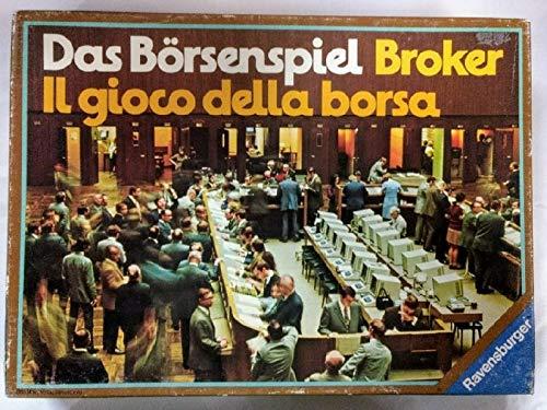 Das Börsenspiel. Broker. Il gioco della borsa [Wirtschaftsspiel].