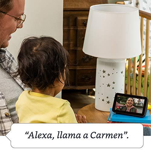 Echo Show 5: mantén el contacto con la ayuda de Alexa, negro
