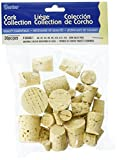 Darice Assorted Corks (30pc) – Perfect for Cork Craft Projects Like Wreaths, Decorations, Ornaments – Use for Plugging Bottles – Includes Eight Cork Sizes (#0-#14)