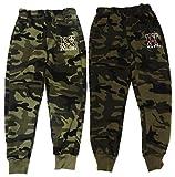 Unbekannt 2er Pack Jungen Camouflage Jogginghosen in den Größen 98-188 (98-104)