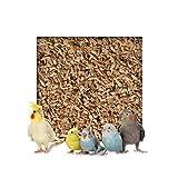 Kieskönig 10 kg Buchenholzgranulat Vogelsand Bodengrund Terrariensand Einstreu Terrariumsand Tiereinstreu Medium 3,0-5,0 mm