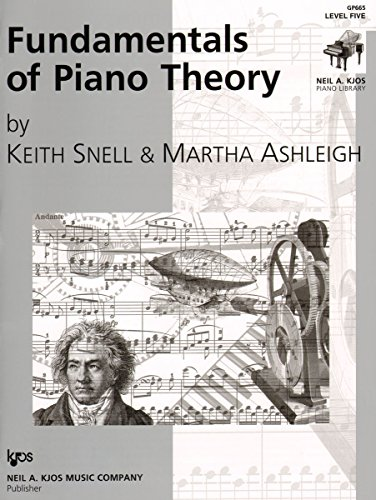 GP665 - Fundamentals of Piano Theory - Level 5