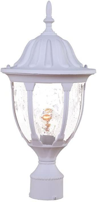 Acclaim Sale item 5067TW Suffolk Collection 1-Light Post Mount Lig Outdoor Large special price