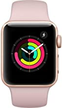 Apple Watch Series 3 – GPS – Gold Aluminum Case with Pink Sand Sport Band..