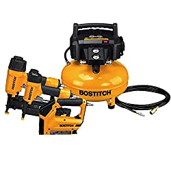Bostitch BTFP72646 3 Tool Compressor Combo Kit - Best Set