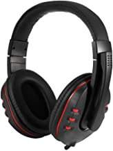 Banghotfire Comfortable USB Wired Stereo Micphone Headphone Mic Headset for PC Game Black