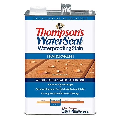 THOMPSONS WATERSEAL TH.041851-16 Transparent Waterproofing Stain, Woodland Cedar