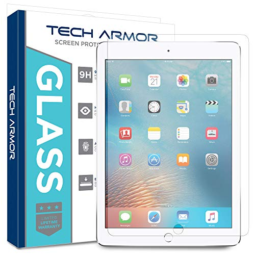 Tech Armor Ballistic Glass Screen Protector Designed for Apple iPad Mini 5 (2019), iPad Mini 4 - Case-Friendly, Tempered Glass, Ultra-Thin, Scratch and Impact Protection [1-Pack]