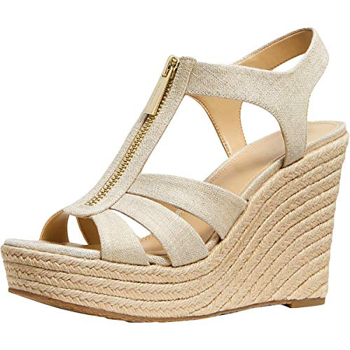 Michael Michael Kors Berkley Wedge Pale Gold 9.5