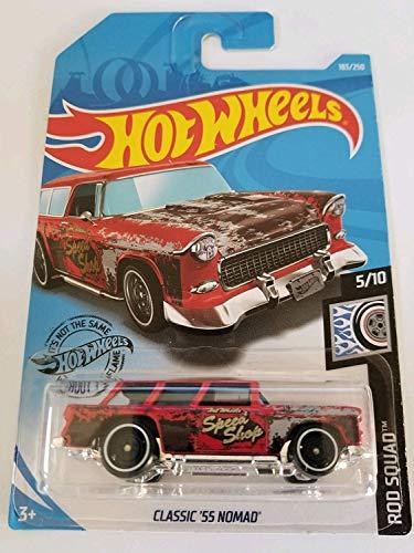 Hotwheels Classic 55 Nomad Rod Squad 183/250 - Tarjeta larga (escala 1/64, sellada)