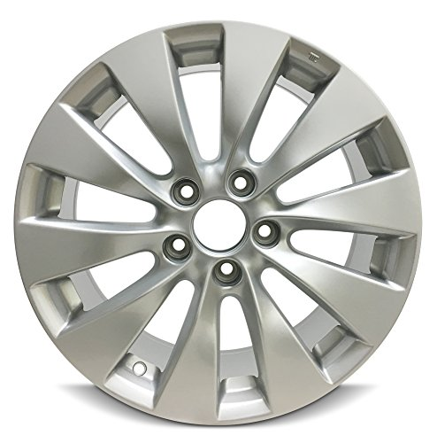 Road Ready Car Wheel For 2013-2015 Honda Accord 17 Inch 5 Lug Aluminum Rim Fits R17 Tire - Exact OEM Replacement - Full-Size Spare