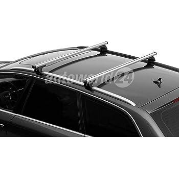 VDP Alu Relingtr/äger CRV107A kompatibel mit Volkswagen Passat Kombi 5 T/ürer ab 2015 90kg abschliessbar