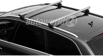 Autohobby 94 4x Dachtr/äger Abdeckung Schiene Leiste Klappe Zierleiste Blende Deckel Schwarz