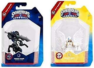 Skylanders Trap Team Deluxe Trap Masters: Knight Mare & Knight Light - Complete Bundle Set of 2! by Activision