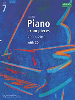 Abrsm Selected Piano Exam Pieces 2009-2010 Gr 7