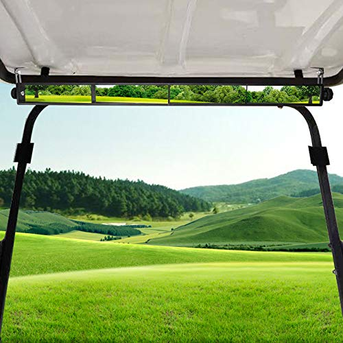HASBEEN Golf Cart Mirror, 4 Panel Rear View Mirror for Golf Cart Club Car Vans Trucks Fits EZGO Yamaha