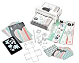Sizzix 'Big Shot Plus Starter Kit White/Gray A4 Stanzmaschine Prägemaschine Schneidemaschine White & Gray 36tlg.