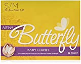 Butterfly Body Liners 28 Count S/M 2 Pack