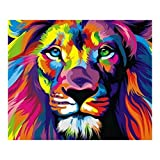5D Diamant Broderie Animal de lion de foret complet Résine Point de Croix Peinture Kits DIY Needlework Décoration Salon Chambre