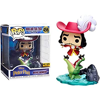 Funko POP Disney Peter Pan Hook and Tick Tock Movie Moment Hot Topic Exclusive 7 inch