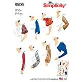 Simplicity Creative Patterns Sleeves for Tops, Vest, Jackets, Coats, A (10-12-14-16-18-20-22)
