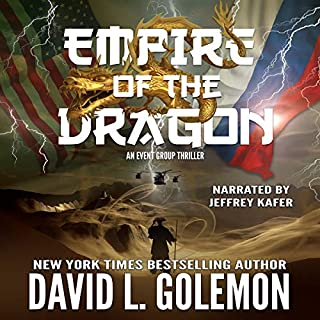 Empire of the Dragon: An EVENT Group Thriller audiobook cover art