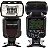 Mcoplus-MK910- TTL Flash Speedlite Lampeggiatore Wireless Flashgun HSS (High-speed Sync 1/8000s) con Schermo LCD con i-TTL, M, Multi Mode per Nikon (Compatibile con reflex Nikon: D3000, D5000, D3100, D3200, D5100, D5200, D7000, D7100, D50, D60, D70, D70S, D80, D90, D200, D300, D300S, D700, D600, D800, D3S) - sostituito Nikon SB910