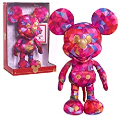 "Special Edition Kaleidoscope of Color Mickey Mouse Plush celebrates ""Walt Disney's Wonderful World of Color."" Includes Certificate of Authenticity. Comes in a window box featuring special Year of the Mouse packaging. Amazon exclusive. Mickey stands 1..."