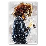 Whitney Houston (1), Leinwand-Kunst-Poster und