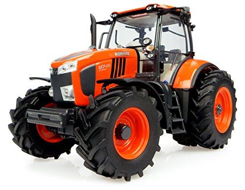 Kubota - Trattore M7 171 con ruote gemellate versione Stati Uniti scala 1/32 arancione