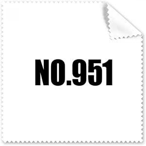 DIYthinker Lucky No 951 Number Name Glasses Cloth Cleaning Cloth Phone...