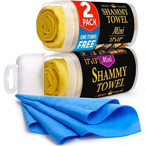 Natural Shammy Chamois Leather Car Cleaning Towels Drying Washing Cloth Best