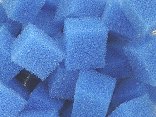 Biowürfel Filterwürfel PPI 20 Filterfeinheit mittel ca. 200 Liter Schüttware (lose im Karton verpackt) für Teichfilter Aquarien Koi Filter Bio