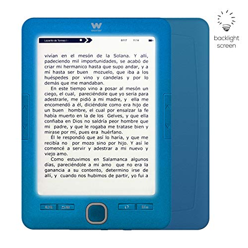Woxter Scriba 195 Paperlight Blue - Lector Libros