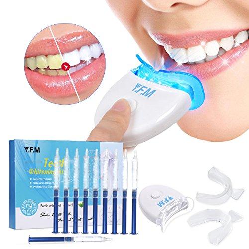 Y.F.M Kit de Blanqueamiento de Dientes Profesional en Casa Juego de Blanqueamiento Dental...