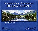 Carl E. Heilman II Adirondack Jigsaw Puzzle, Panoramic, Marcy Dam Reflections - MDPZ
